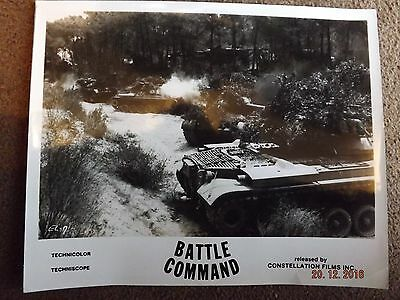 Battle Command Lobby Card 10X8 Black And White Rare?...