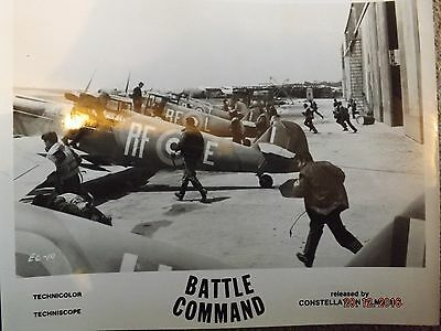 Battle Command Lobby Card 10X8 Black And White Rare?.