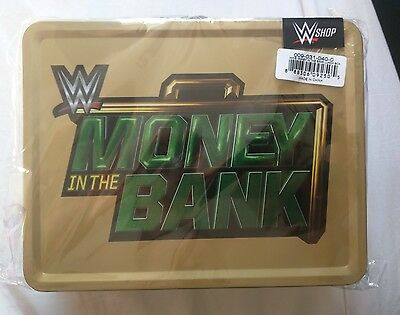 Wwe Money In The Bank Briefcase Lunchbox New