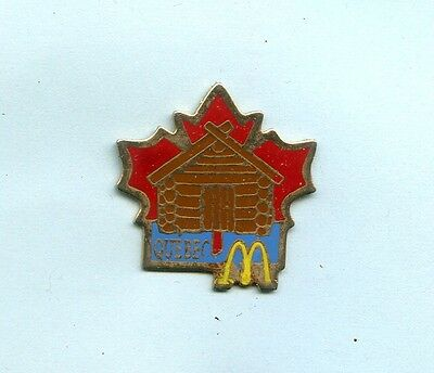 Pins  Mc  Donald's  Quebec  Kanada  Ph723