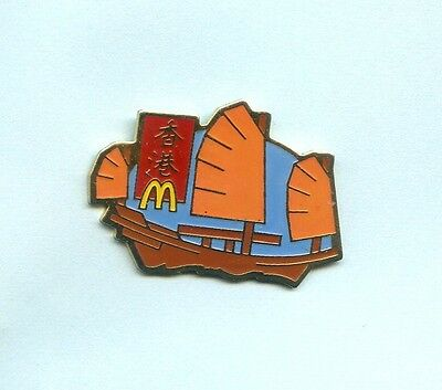 Pins  Mc  Donald's  China Segelboot  Ph738