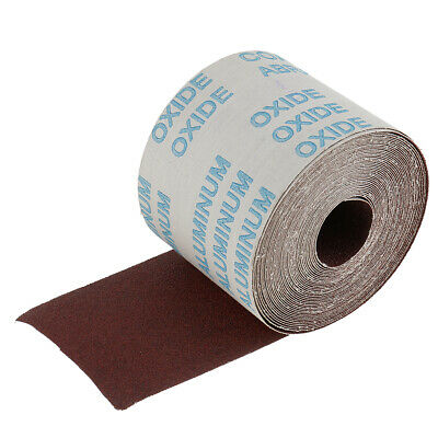 10 Meters Abrasive Cloth Emery Cloth Roll 80 Grit Metalworking Supplies