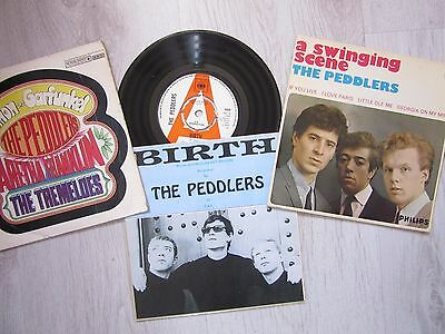 "EP. THE PEDDLERS  ""SWINGING SCENE"" UK 7"" (Lot of 3)"