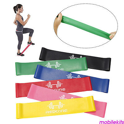 Sport Resistance Loop Band Exercise Yoga Bands Rubber Fitness Strength Training