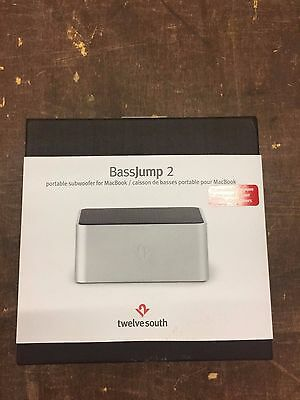 Twelve South Bass jump2 Portable Subwoofer For Mac Book Or Air/Pro