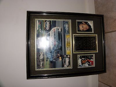 """Peter Brock """"The Legend"""" limited edition Plaque"""