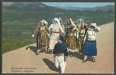 ALBANIA - Albanian peasants.   Publised by Purger & Co.