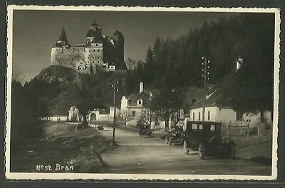 Romania - BRAN (Brasov) - View of the Castle. Real photo.