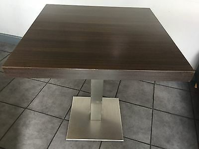 Restaurant Cafe Bar Dining Tables Bolero Stainless Steel Base Job Lots £1600.00