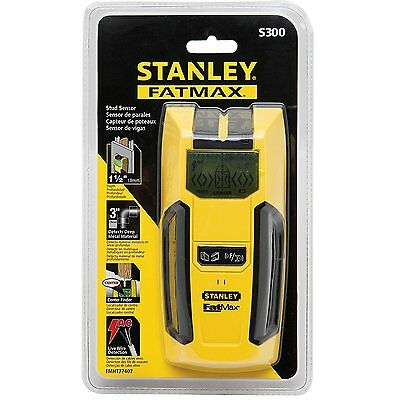 Stanley S300 Stud, Pipe And Cable Detector Fmht0-77407 - Vat Receipt