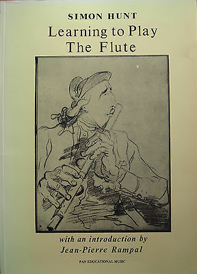 Learning To Play The Flute Vol I Beginner Illustrated Easy Tutor Book  B43