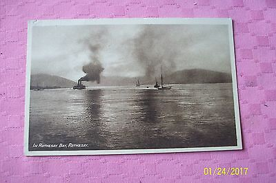 Postcard-- In Rothesay Bay, Rothesay