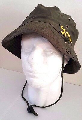 IDF Israel Army Military Olive Green Zahal Boonie Bucket Hat 100% Cotton NEW