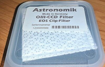Astronomik OIII 12nm CCD EOS Clip Filter