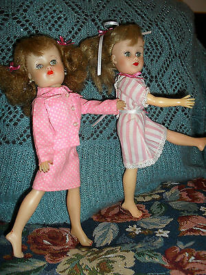X2 REVLON ERA DOLLS PRETTY turn waIst /free postage & insurance