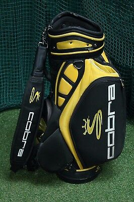 Cobra Tour Staff Bag / Black Yellow / 6-Way Divider / 55109