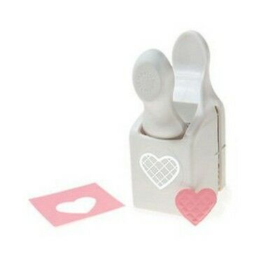 Martha Stewart double  punch embossed love heart M230474