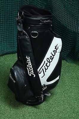 Titleist Tour Staff Bag / Black / 6-Way Divider / 49374