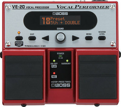 Vocal Processor Boss VE20 nuovo!!!
