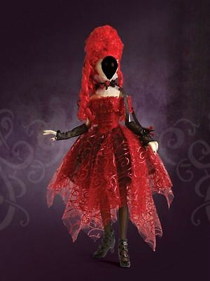 Tonner Evangeline Ghastly Whine and Roses Outfit with Wig
