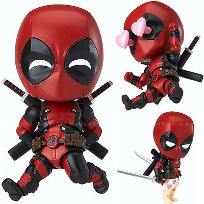 Nendoroid Marvel Legends X-men DEADPOOL Action Figure Revoltech Verison Gift
