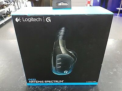 Logitech G633 Artemis Spectrum Wired 7.1 Surround Sound Pro Gaming Headset