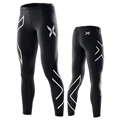 Womens long skins/compression tights, 2XU, size S M L XL, running tights