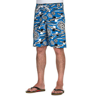 Independent Ripped Board Shorts Royal