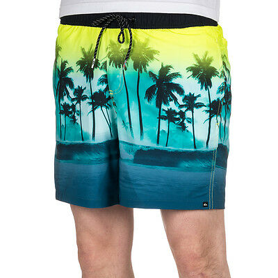 Quiksilver Waves Volley Shorts Viridian Green
