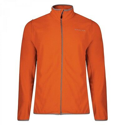 Dare2b Resile Mens Mid-weight Stretch Mid Layer Fleece Jacket Orange XXXL