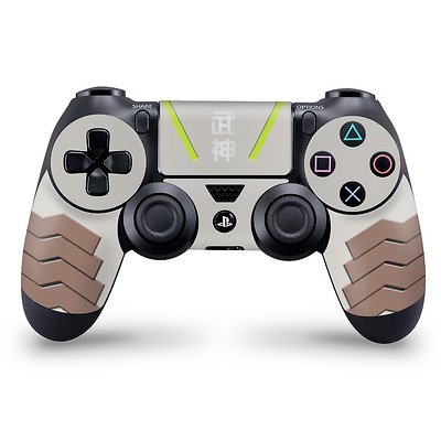 Genji theme Playstation 4 Controller Skin PS4 Overwatch Decal Sticker