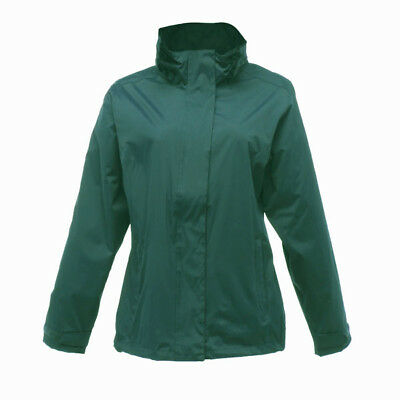 Regatta Womens Gibson Waterproof Windprf Lined Hooded Shaped-Fit Jacket