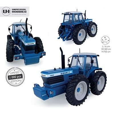 Universal Hobbies - Uh5236 Ford County 1884 Tractor 1:32 Scale