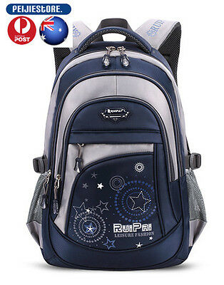Fashion Children School Bags Satchel Notebook Backpack For Boys