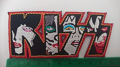 KISS Faces Iron/Sew On Patch