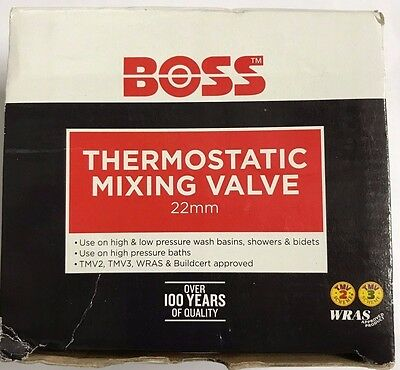 Boss 22mm Thermostatic Blending/Mixing Valve