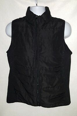 Women's Maternity Motherhood Black Vest Size Large