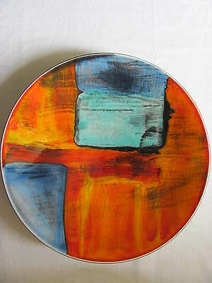 Poole Pottery Charger Plate Gemstones