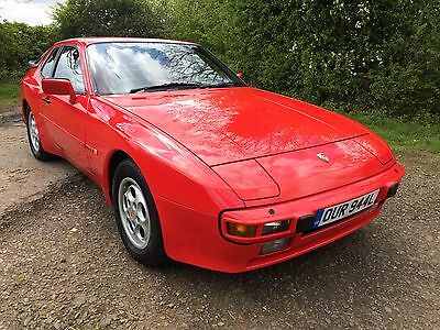 1987 Porsche 944 S Red With Full Red Leather,944 Plate Inc, £3000 Just Spent