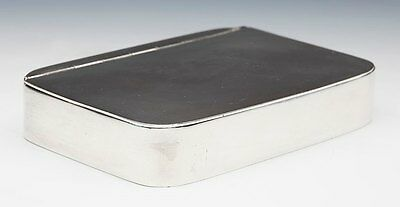 Scarce Antique James Dixon Silver Plated Sandwich Tin 19Th C.