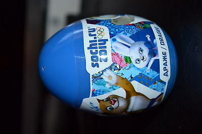 Plastic egg with a surprise figure the Olympic Games Sochi 2014 new Russia