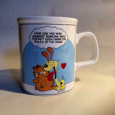 Vintage NEW-OLD 1978 Jim Davis Garfield E 7418 Enesco Coffee Cup Mug