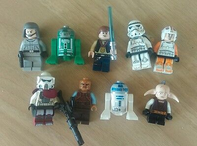 lego star wars figures bundle