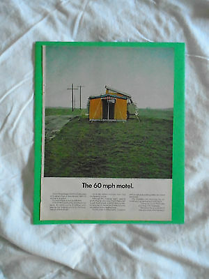 #7 May 1969 Volkswagen Camper Campmobile magazine print ad advertisement