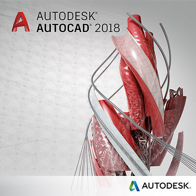 Autodesk AutoCAD 2018 - 3 years license - Win - Multi languages