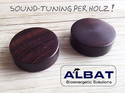 ALBAT Mpingo Tuning Disks - wonderful Sound !