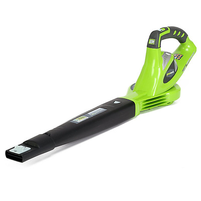 GreenWorks 24282 G-MAX 40V 150 MPH Variable Speed Cordless Blower, Battery and C