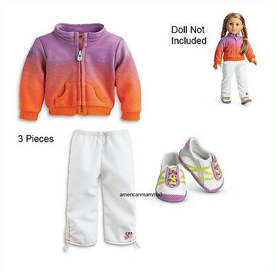 American Girl LE MCKENNA WARM UP OUTFIT for Dolls Girl of Year 2012  NEW