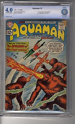 Aquaman (1962) # 1 - CBCS 4.0 OW/White Pages - First Appearance of the Quisp