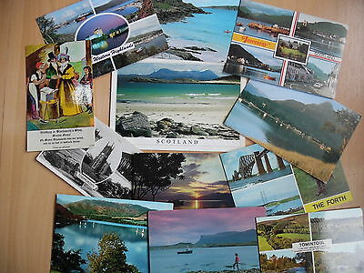 Scotland X 12 Postcards,nice Collection